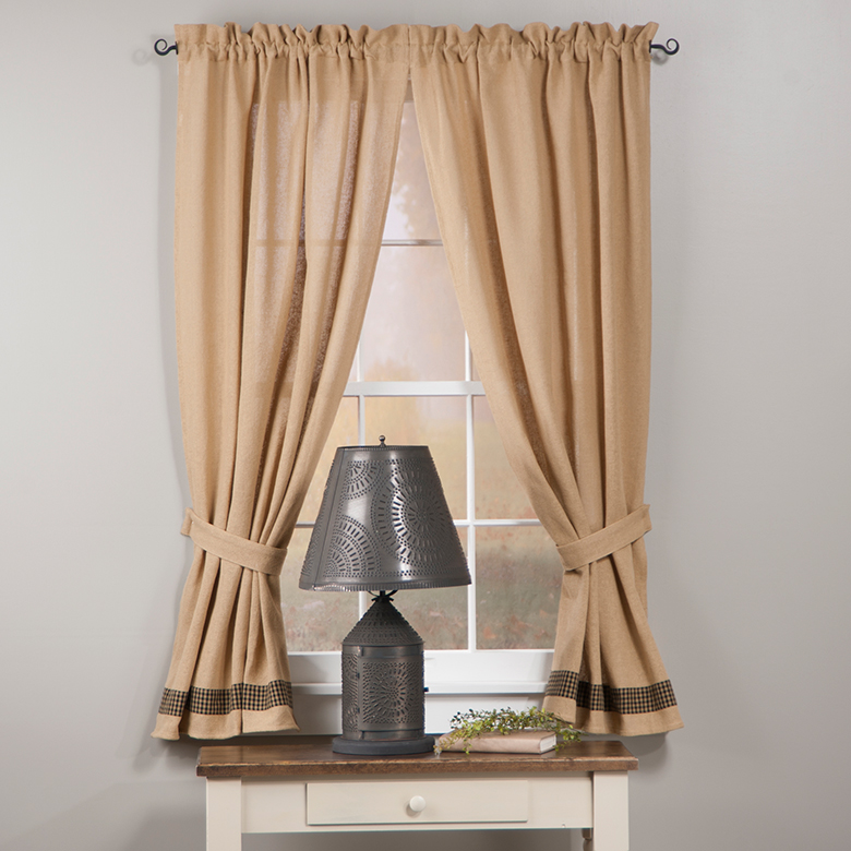 Country Primitive Curtains By Collection | Irvins Tinware