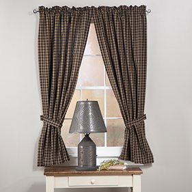Country Primitive Curtains By Style Irvins Tinware