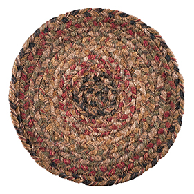Country Primitive Braided Rugs Canvas Floor Cloths