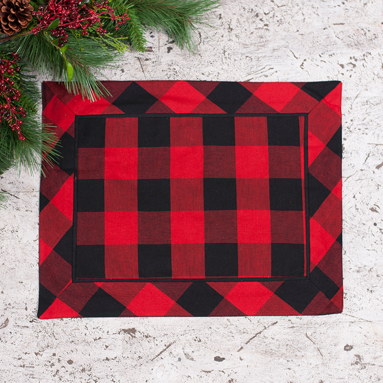 Buffalo Check Placemats Set Of 4 Irvin S Tinware