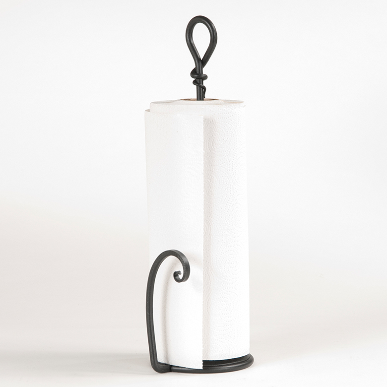 Wrought Iron Loop Paper Towel Holder Irvin S Tinware