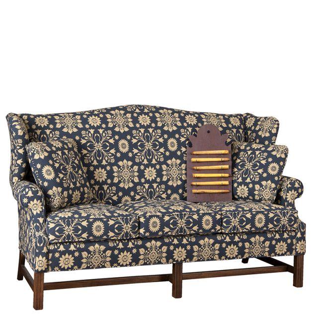 Irvin S Tinware Wingback Sofa