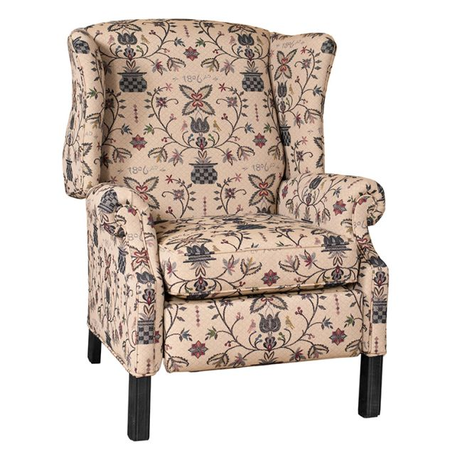 Reclining Clic Wingback Chair