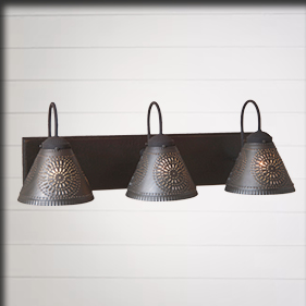 Country Primitive Bed And Bathroom Lighting Hardware Decor Irvins