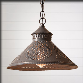 Country Farmhouse Lighting Irvins Tinware